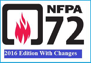 دانلود استاندارد ملی آتش NFPA 72 نسخه ۲۰۱۶